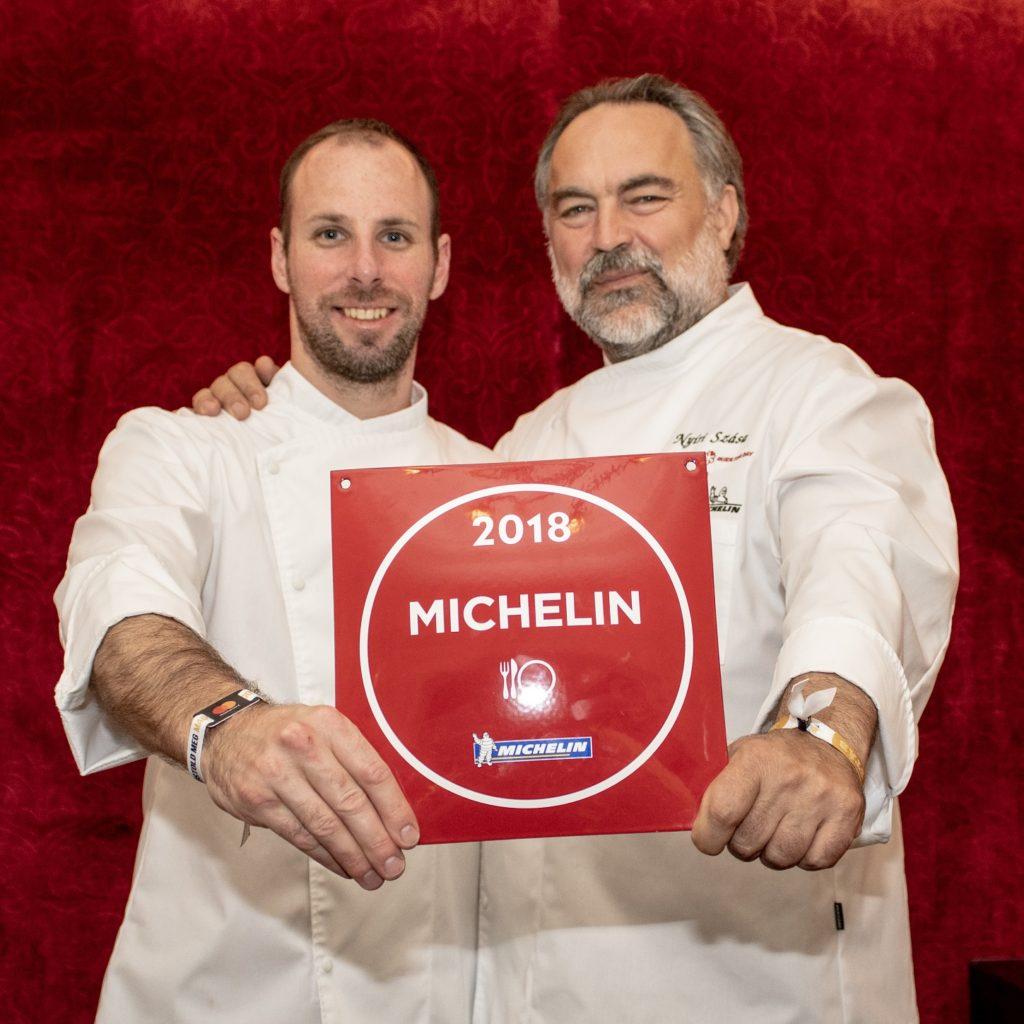 Kanász László Head Chef and Nyíri Szása Executive Chef- Tulajdonos